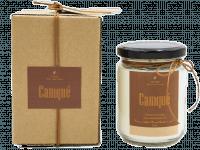 SCENTED CANDLE - CAMQUÉ - Cinnamon + Orange - 175GR