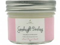 SCENTED CANDLE - GOODNIGHT DARLING  – Cherry Blossom + White Jasmine – TRAVEL SIZE 81GR