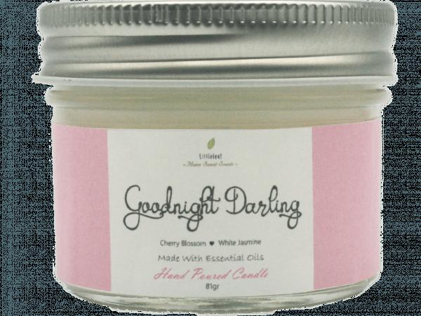 GOODNIGHT DARLING  – Cherry Blossom + White Jasmine –  TRAVEL SIZE 81GR