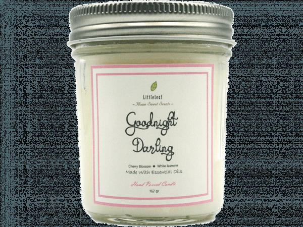 GOODNIGHT DARLING – Cherry Blossom + White Jasmine – MEDIUM SIZE 162GR