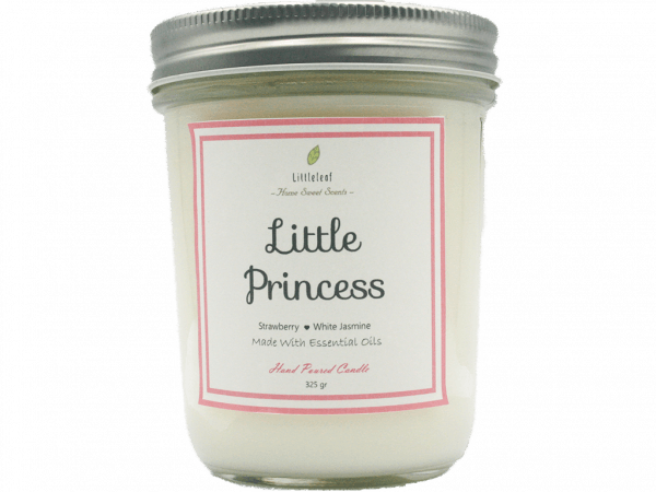 LITTLE PRINCESS – Strawberry + White Jasmine – MEDIUM SIZE 162GR