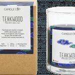 CANDLE CUP - Nến thơm thiên nhiên - TEAKWOOD - 100GR