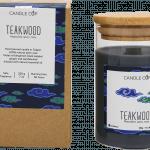 CANDLE CUP - Nến thơm thiên nhiên - TEAKWOOD - 200GR