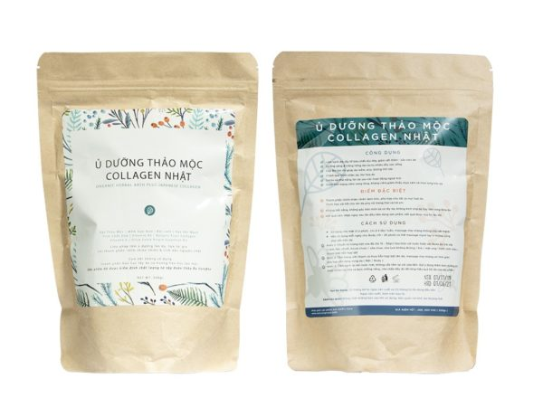 ORGANIC HERBAL BATH PLUS JAPANESE COLLAGEN - 500GR