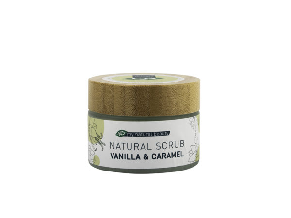 mynaturalbeauty scrub vanilla caramel natural skincare