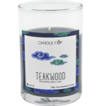 Candle Cup Scented Candle Teakwood 100gr