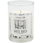 Candle Cup Scented Candle White Birch 100gr