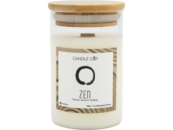 Candle Cup Scented Candle Zen 200gr