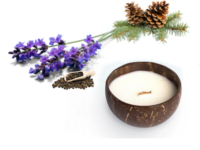 Natural scented Candle Lavandin