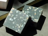 Charcoal Terrazzo Soap - 65g